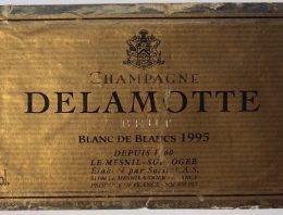 391. Champagne Delamotte, Blanc de Blancs Brut, 1995