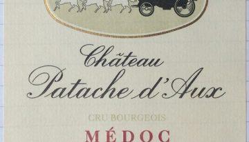 393. Château Patache d'Aux, Médoc Cru Bourgeois, 1996