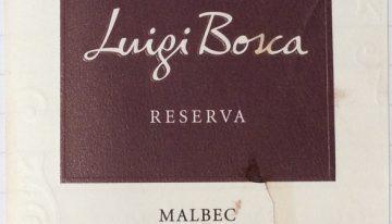 394. Luigi Bosca, Malbec Reserva, 2004