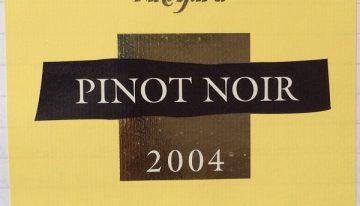 413. Martinborough Vineyard, Pinot Noir Martinborough Terrace, 2004