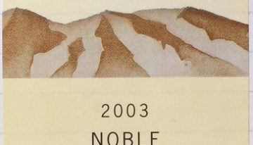 415. Wither Hills, Noble Riesling Marlborough, 2003