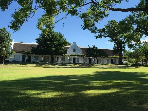 South Africa wine historical architecture