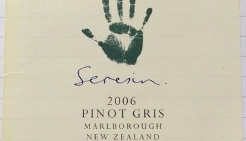 431. Seresin, Pinot Gris Marlborough, 2006