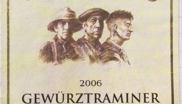 432. Three Miners, Gewürztraminer Earnscleugh Valley Central Otago, 2006