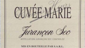 462. Charles Hours, Cuvée Marie Jurançon Sec, 2006
