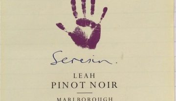 464. Seresin, Pinot Noir Leah Marlborough, 2006