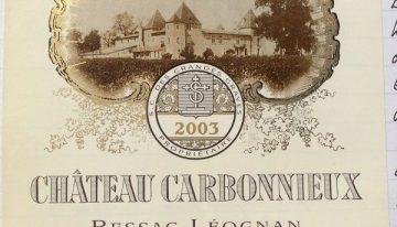 465. Château Carbonnieux, Pessac-Léognan Blanc Grand Cru Classé, 2003