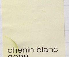 467. Teddy Hall, Chenin Blanc Summer Moments Stellenbosch, 2008