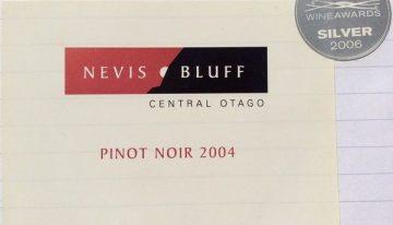 468. Nevis Bluff, Pinot Noir Central Otago, 2004