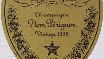 469. Champagne Moët et Chandon, Dom Pérignon Vintage, 1998