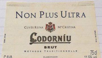 475. Codorníu, Cava Cuvée Reina Cristina Non Plus Ultra Brut, NV (2009)