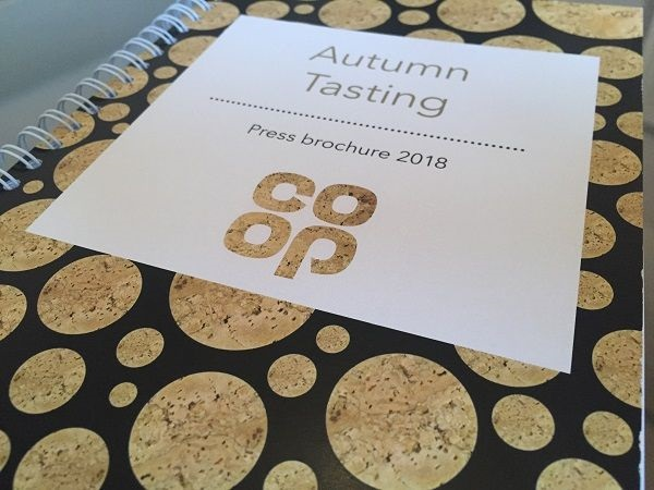 Co-operative supermarket tasting book