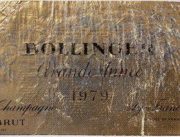 495. Champagne Bollinger, Grande Année Brut, 1979