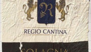 538. Regio Cantina, Aglianico del Vulture Solagna, 2005
