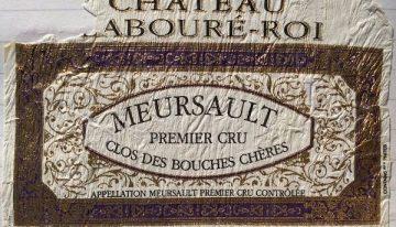 545. Château Labouré-Roi, Meursault 1er Cru Clos des Bouches Chères, 2005