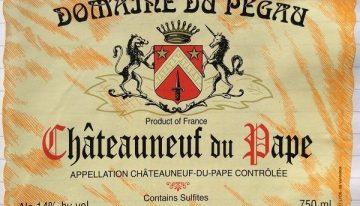 546. Domaine du Pegau, Châteauneuf-du-Pape Cuvée Réserve, 2006