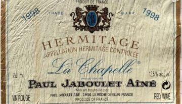 550. Paul Jaboulet Aîné, Hermitage La Chapelle, 1998
