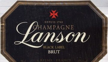 560. Champagne Lanson, Black Label Brut, NV (2011)