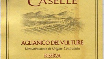 563. D'Angelo, Aglianico del Vulture Riserva Caselle, 2003