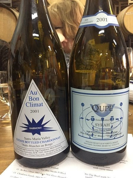 Au Bon Climat and Qupe 2001
