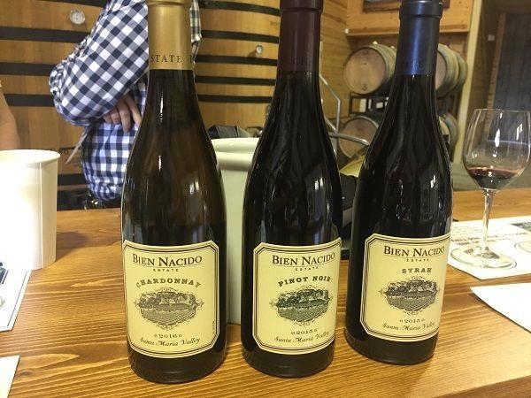 Bien Nacido Vineyards wines