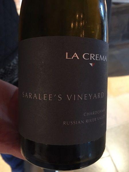 La Crema Saralee's Vineyard Chardonnay 2015