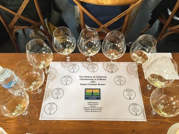 California Chardonnay history masterclass wines