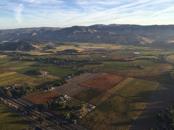 Vaca Range Napa Valley
