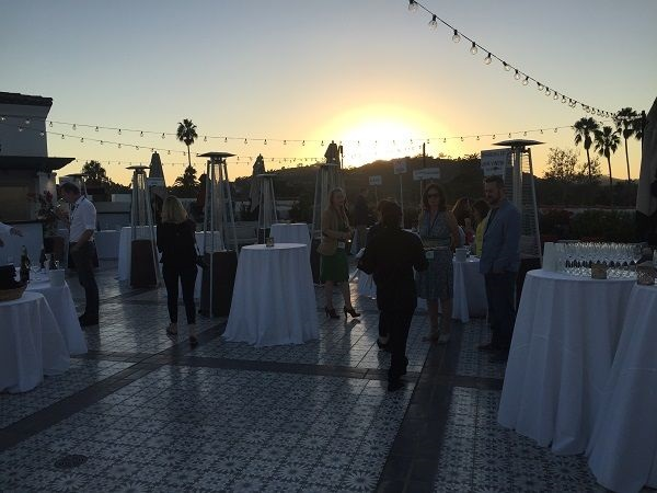 Santa Barbara hotel rooftop Central Coast wine