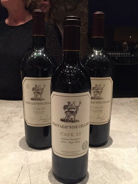 Stag's Leap Wine Cellars Cask 23 1994 and 2015