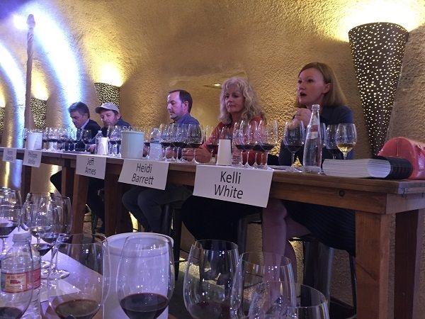 Napa wine consultants masterclass panel