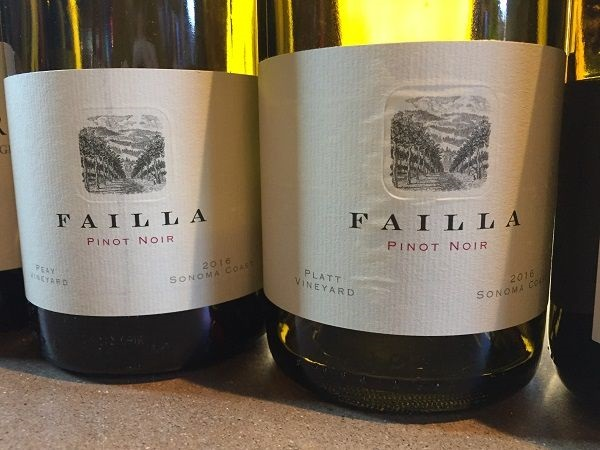 Failla single-vineyard Pinot Noirs Sonoma Coast