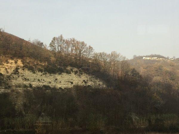 Asti limestone bedrock