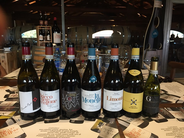 Braida wines tasted
