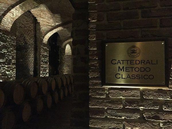Gancia Cattedral Medoto Classico cellar