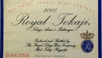 581. Royal Tokaji Wine Company, Tokaji Aszú 5 Puttonyos, 2000