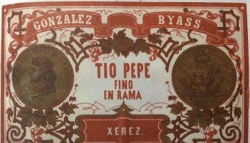 582. Gonzalez-Byass, Tio Pepe En Rama Fino Sherry, NV (2011)