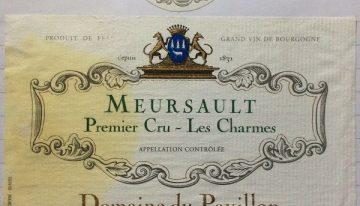 585. Albert Bichot, Domaine du Pavillion Meursault 1er Cru Les Charmes, 2005