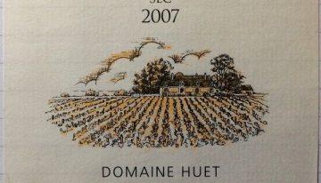 598. Domaine Huet, Vouvray Le Haut-Lieu Sec, 2007