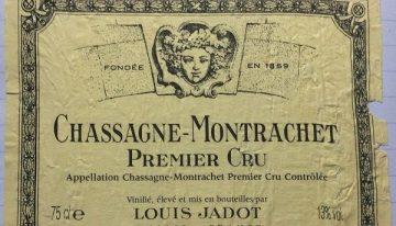 599. Louis Jadot, Chassagne-Montrachet 1er Cru, 2008