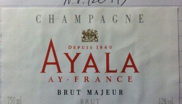 600. Champagne Ayala, Brut Majeur, NV (2011)
