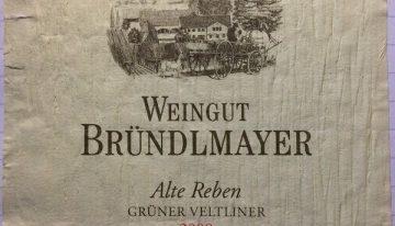 607. Weingut Bründlmayer, Grüner Veltliner Kamptal Reserve Alte Reben, 2009