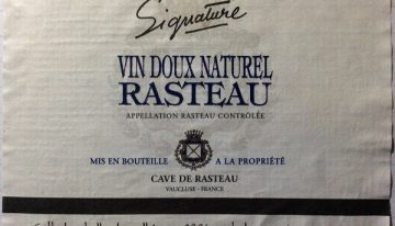 608. Cave de Rasteau, Rasteau Vin Doux Naturel Signature, 2006