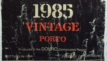 609. Quinta do Noval, Vintage Port, 1985