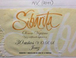 611. Pedro Domecq, Sibarita Viejisimo Oloroso Sherry VORS, NV (2011)