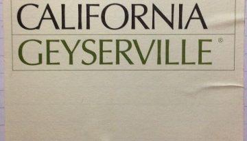 629. Ridge Vineyards, Geyserville Sonoma County, 1999
