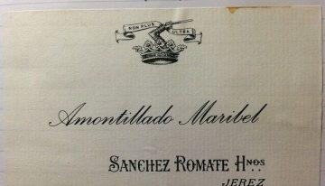 630. Sanchez Romate, Maribel Amontillado Sherry, NV (2011)