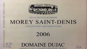 632. Domaine Dujac, Morey Saint-Denis, 2006
