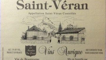 640. Vins Auvigne, Saint-Véran, 2009