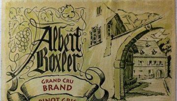 642. Albert Boxler, Pinot Gris Grand Cru Brand Alsace, 2005